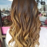 Brunette Hair Color With Blond Highlights | Personalized Haircut Styles in Northridge, CA