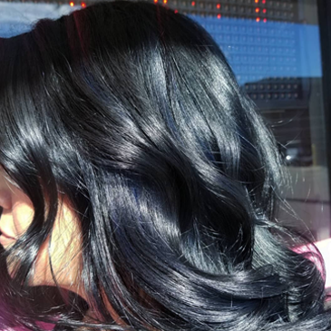 Shiny and Wavy Black Hair | Family-Friendly Hair Salon in Northridge, CA