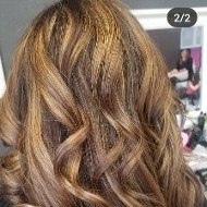 Deep Curls with Highlights